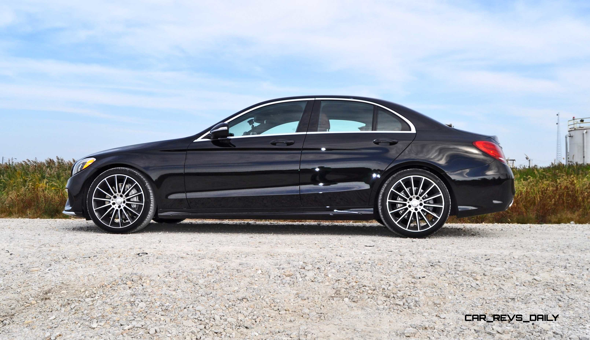 Road test review 2015 mercedes benz c300 4matic sport 77 for Mercedes benz c300 reviews