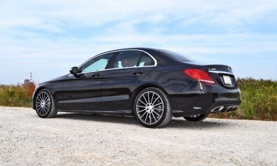 Road Test Review - 2015 Mercedes-Benz C300 4Matic Sport 78