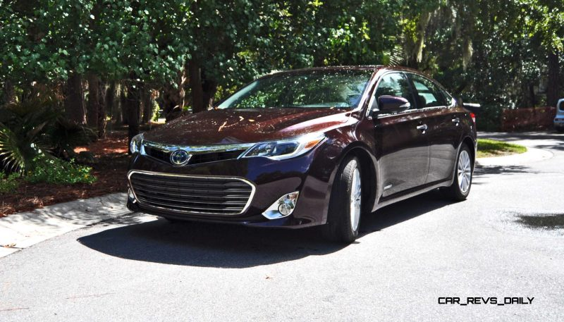 Road Test Review - 2015 Toyota Avalon Hybrid 54