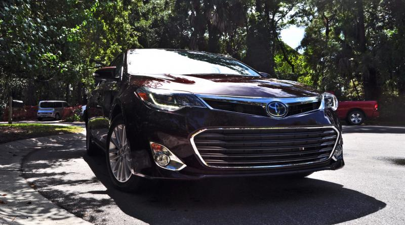 Road Test Review - 2015 Toyota Avalon Hybrid 55