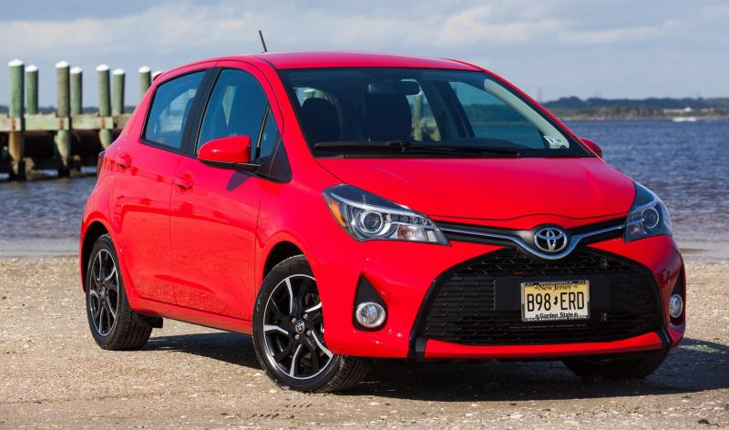 Road Test Review - 2015 Toyota Yaris SE 5-Door 1