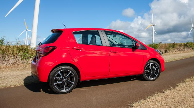 Road Test Review - 2015 Toyota Yaris SE 5-Door 25