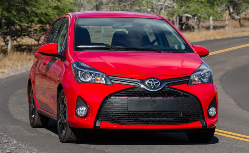 Road Test Review - 2015 Toyota Yaris SE 5-Door 26
