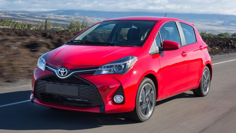 Road Test Review - 2015 Toyota Yaris SE 5-Door 27