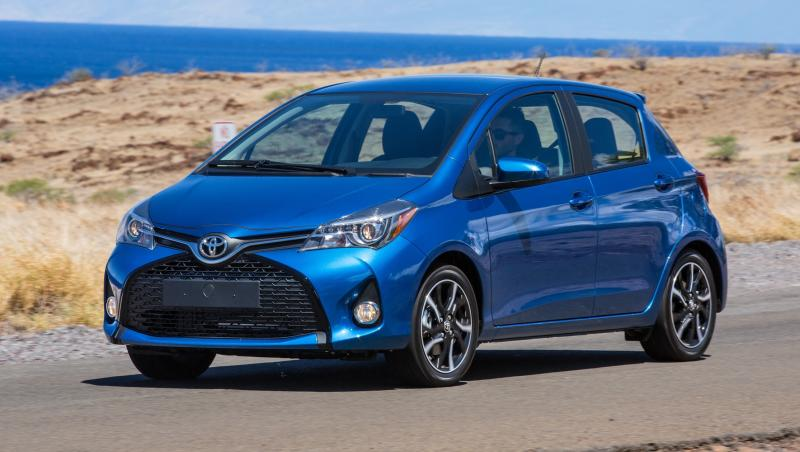 Road Test Review - 2015 Toyota Yaris SE 5-Door 29