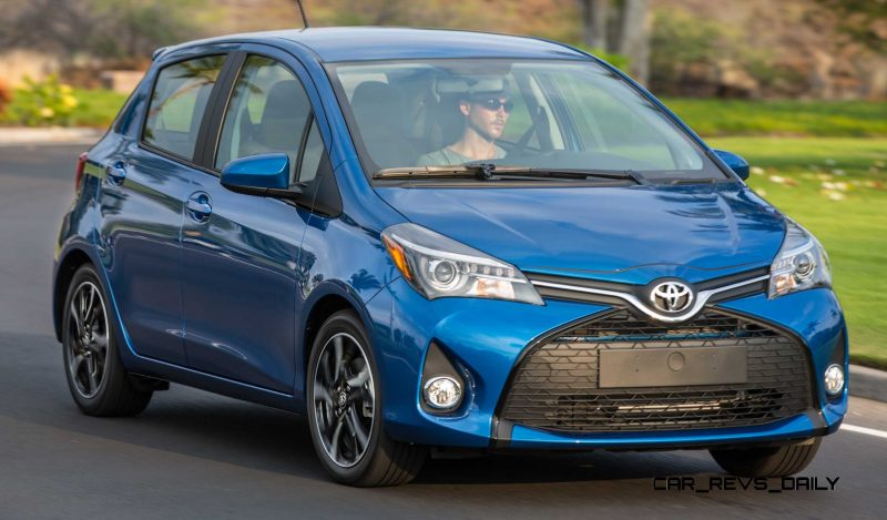 Road Test Review - 2015 Toyota Yaris SE 5-Door 33