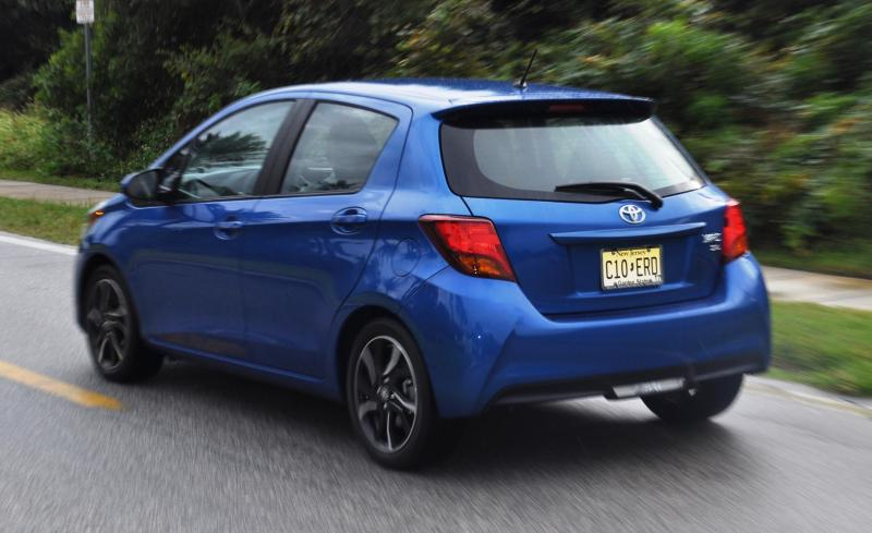 Road Test Review - 2015 Toyota Yaris SE 5-Door 39