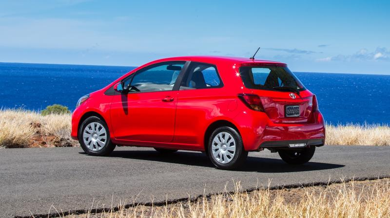 Road Test Review - 2015 Toyota Yaris SE 5-Door 4