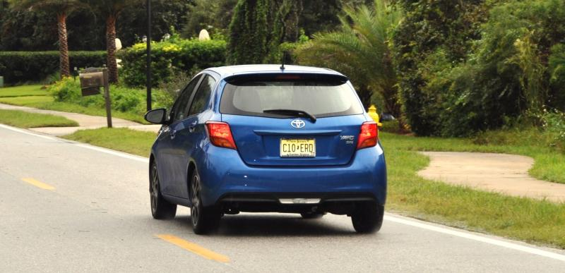 Road Test Review - 2015 Toyota Yaris SE 5-Door 40