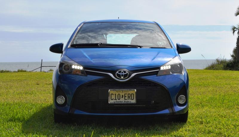 Road Test Review - 2015 Toyota Yaris SE 5-Door 46