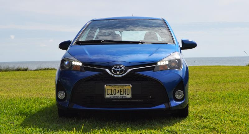 Road Test Review - 2015 Toyota Yaris SE 5-Door 48