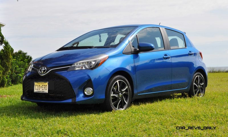 Road Test Review - 2015 Toyota Yaris SE 5-Door 55
