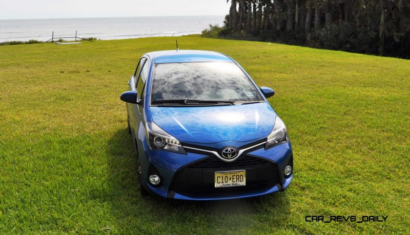Road Test Review - 2015 Toyota Yaris SE 5-Door 56