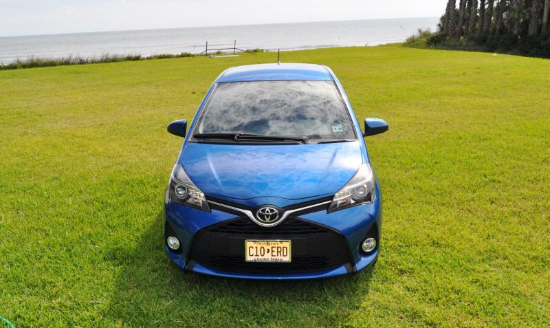 Road Test Review - 2015 Toyota Yaris SE 5-Door 57