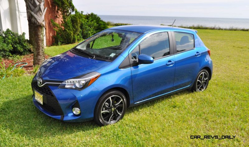 Road Test Review - 2015 Toyota Yaris SE 5-Door 59