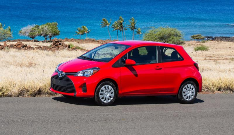 Road Test Review - 2015 Toyota Yaris SE 5-Door 6
