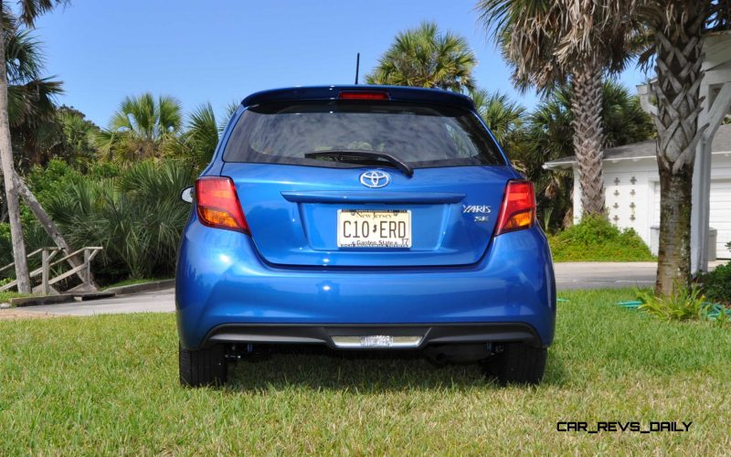 Road Test Review - 2015 Toyota Yaris SE 5-Door 62