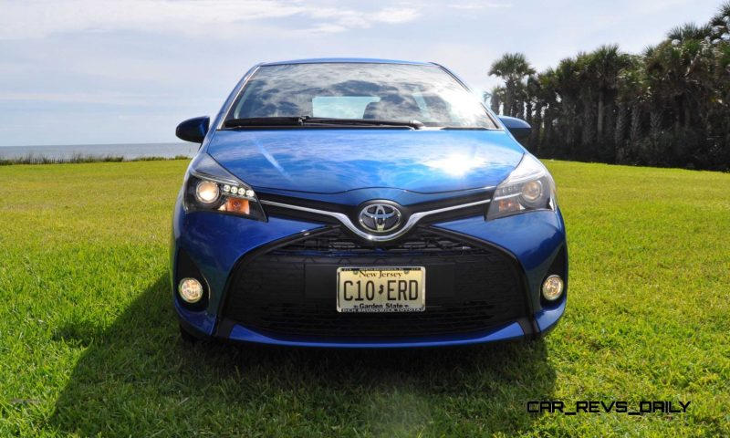 Road Test Review - 2015 Toyota Yaris SE 5-Door 65