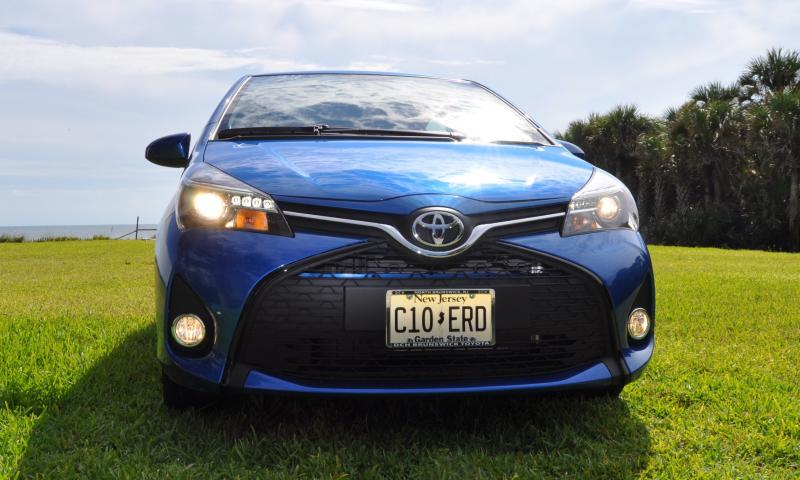 Road Test Review - 2015 Toyota Yaris SE 5-Door 67