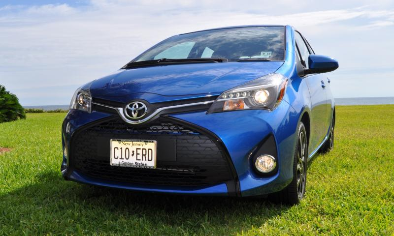 Road Test Review - 2015 Toyota Yaris SE 5-Door 71