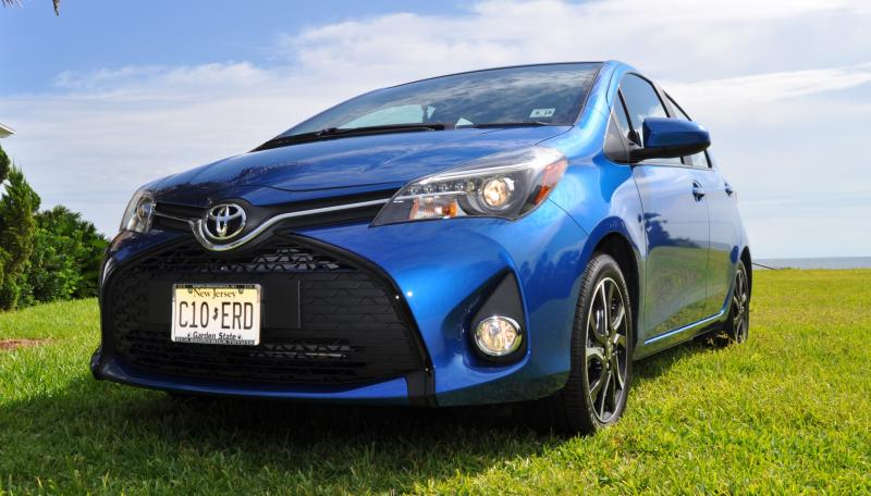 Road Test Review - 2015 Toyota Yaris SE 5-Door 72