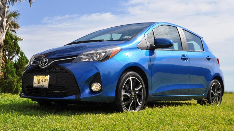 Road Test Review - 2015 Toyota Yaris SE 5-Door 74
