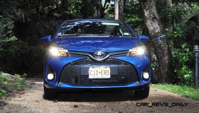 Road Test Review - 2015 Toyota Yaris SE 5-Door 87