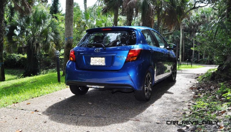 Road Test Review - 2015 Toyota Yaris SE 5-Door 94