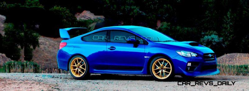 Subaru WRX STi 2016 Subaru WRX STi RS500 Coupe 1