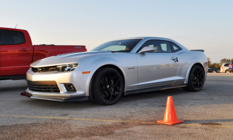Track Drive Review - 2015 Chevrolet Camaro Z28 Is A Racecar With License Plates! 2