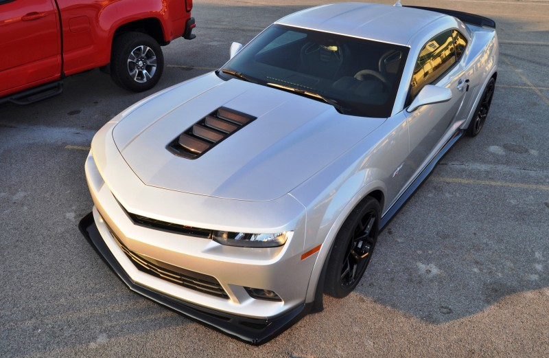 Track Drive Review - 2015 Chevrolet Camaro Z28 Is A Racecar With License Plates! 20