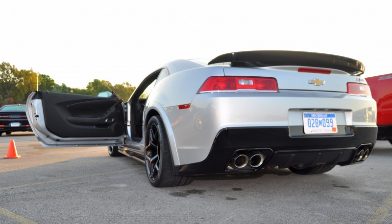 Track Drive Review - 2015 Chevrolet Camaro Z28 Is A Racecar With License Plates! 22