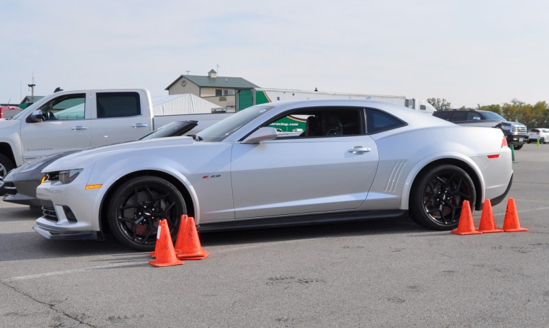 Track Drive Review - 2015 Chevrolet Camaro Z28 Is A Racecar With License Plates! 33