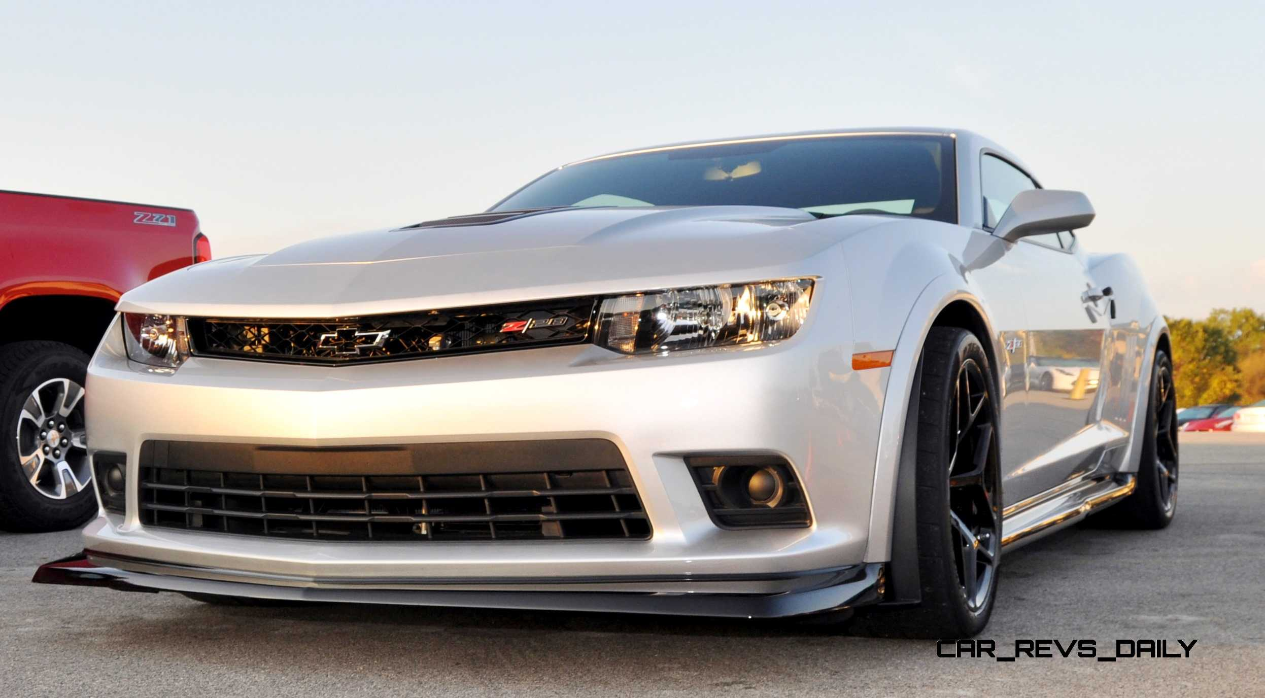 Track Drive Video 2015 Chevrolet Camaro Z28 Is A Racecar