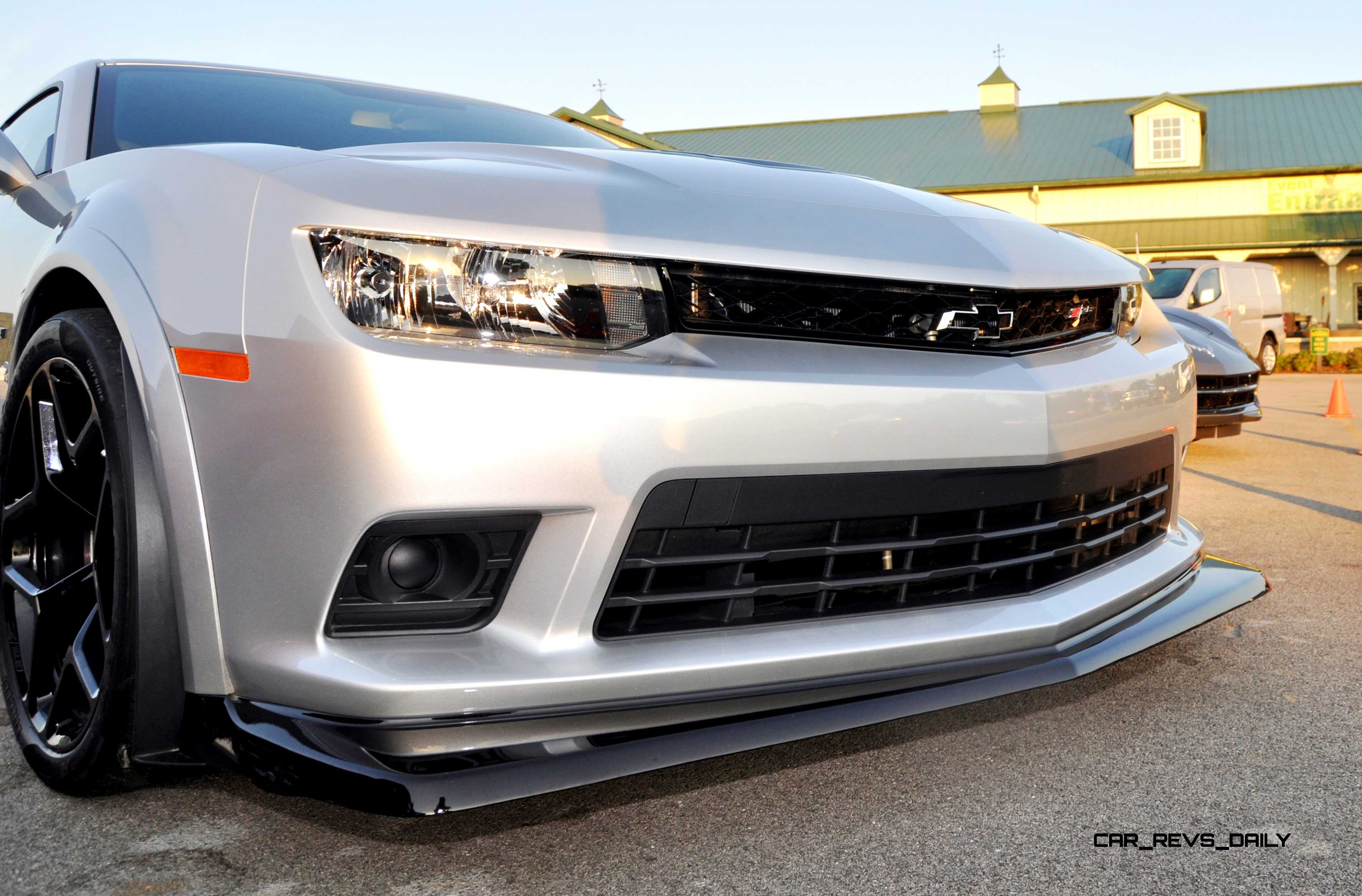 Creative Track Drive Video  2015 Chevrolet Camaro Z28 Is A Racecar With License Plates