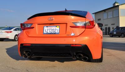 Track Drive Review - 2015 Lexus RCF Is Roaring Delight Around Autobahn Country Club 11