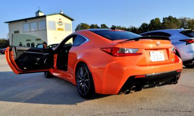 Track Drive Review - 2015 Lexus RCF Is Roaring Delight Around Autobahn Country Club 16
