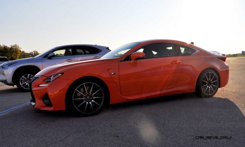 Track Drive Review - 2015 Lexus RCF Is Roaring Delight Around Autobahn Country Club 17