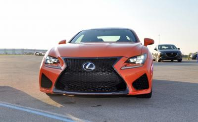 Track Drive Review - 2015 Lexus RCF Is Roaring Delight Around Autobahn Country Club 18