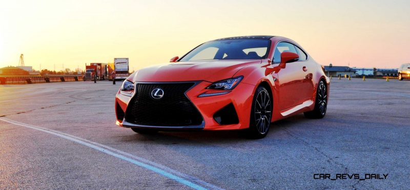Track Drive Review - 2015 Lexus RCF Is Roaring Delight Around Autobahn Country Club 2