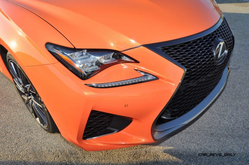 Track Drive Review - 2015 Lexus RCF Is Roaring Delight Around Autobahn Country Club 21