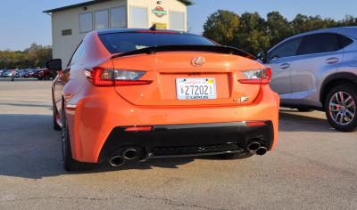 Track Drive Review - 2015 Lexus RCF Is Roaring Delight Around Autobahn Country Club 22