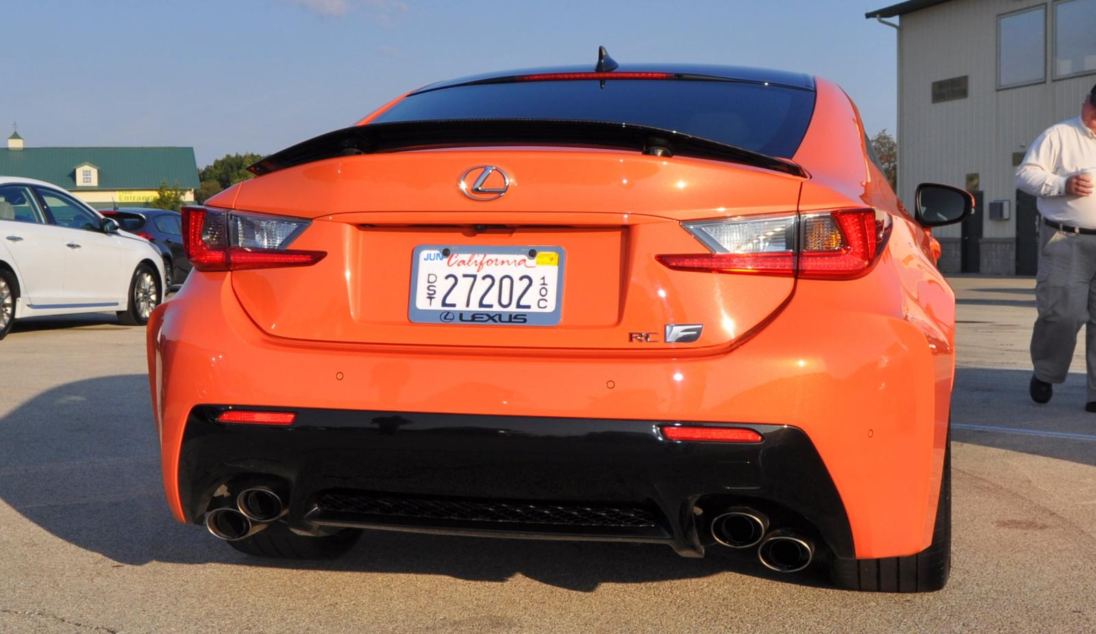 track drive review 2015 lexus rcf is roaring delight around autobahn country club 22. Black Bedroom Furniture Sets. Home Design Ideas