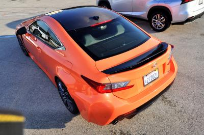Track Drive Review - 2015 Lexus RCF Is Roaring Delight Around Autobahn Country Club 24