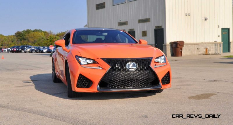 Track Drive Review - 2015 Lexus RCF Is Roaring Delight Around Autobahn Country Club 25