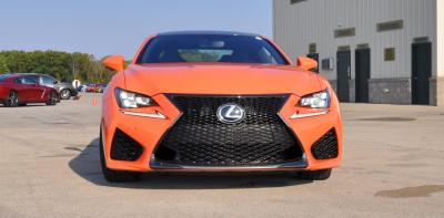 Track Drive Review - 2015 Lexus RCF Is Roaring Delight Around Autobahn Country Club 26