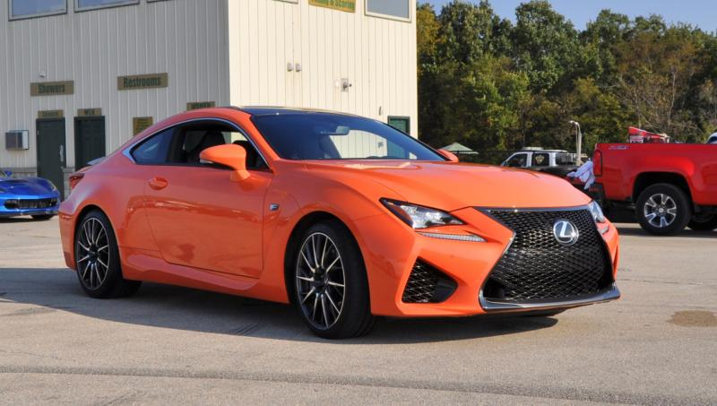 Track Drive Review - 2015 Lexus RCF Is Roaring Delight Around Autobahn Country Club 27