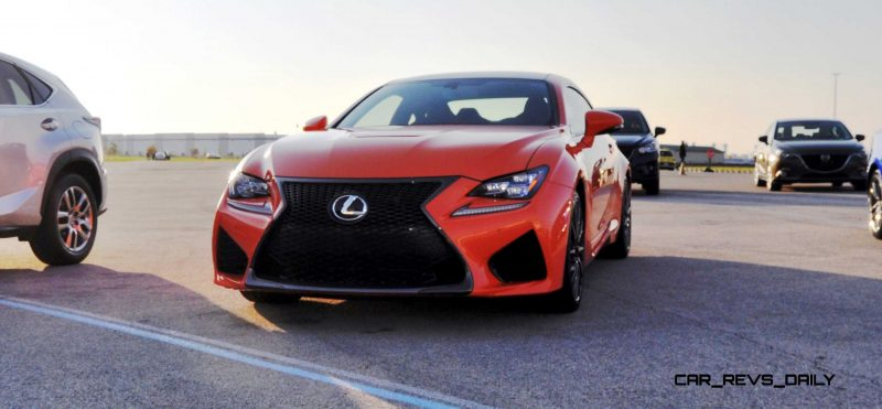 Track Drive Review - 2015 Lexus RCF Is Roaring Delight Around Autobahn Country Club 3