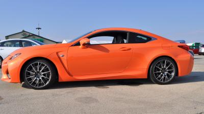 Track Drive Review - 2015 Lexus RCF Is Roaring Delight Around Autobahn Country Club 30