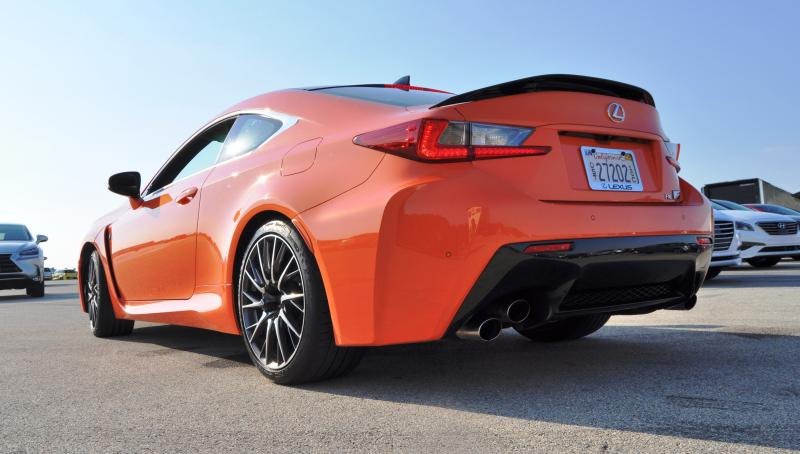 Track Drive Review - 2015 Lexus RCF Is Roaring Delight Around Autobahn Country Club 31